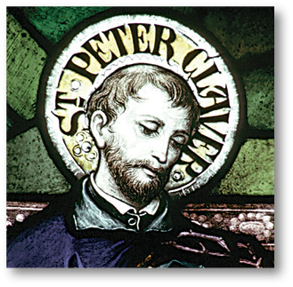 St. Peter Claver stain glass
